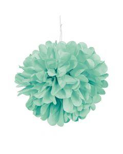 Mint Green Tissue Pom-poms