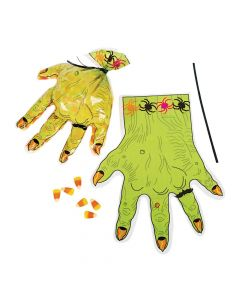 Monster Hand-Shaped Goody Bags