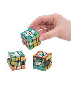 Monster Mini Puzzle Cubes