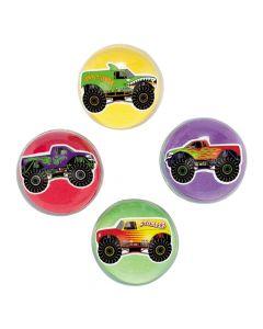 Monster Truck Bouncing Balls