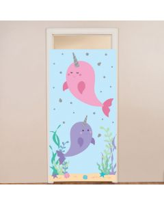 Narwhal Party Door Cover