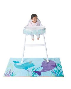 Narwhal Party High Chair Decorating Kit