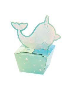 Narwhal Party Treat Boxes
