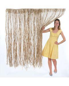 Natural Raffia Door Curtain