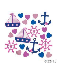 Nautical Girl Confetti