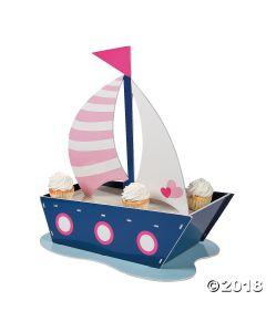 Nautical Girl Cupcake Stand