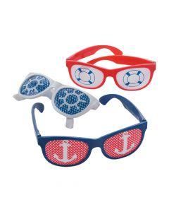 Nautical Pinhole Glasses