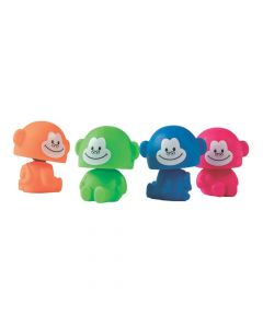 Neon Bobblehead Monkeys