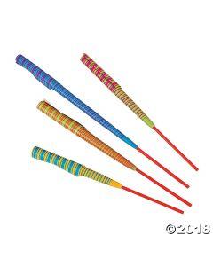 Neon Striped Chinese Yo-yos