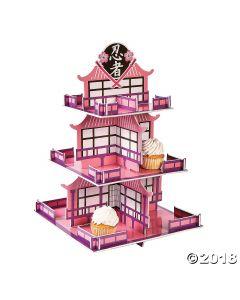 Ninja Girl Cupcake Stand