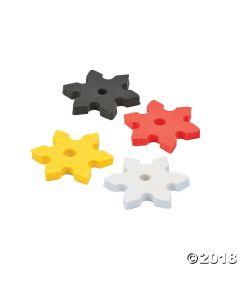 Ninja Star Erasers