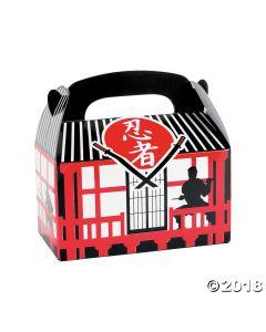 Ninja Warrior Favour Boxes