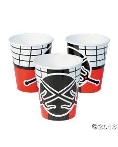 Ninja Warrior Paper Cups