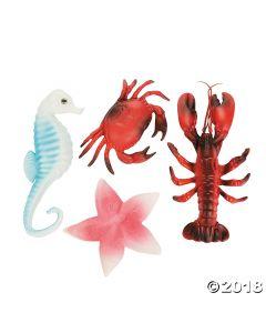 Ocean Sea Life Decoration Assortment