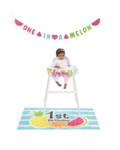 One In A Melon 1st Birthday Decorating Kit