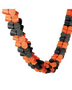 Orange and Black Garland