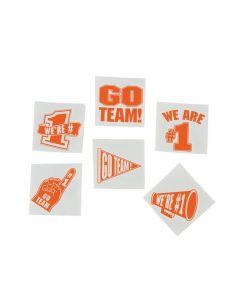 Orange Go Team Tattoos