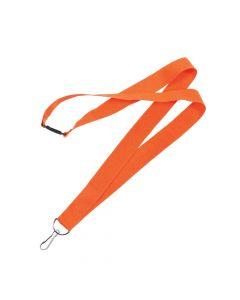 Orange Nylon Lanyards