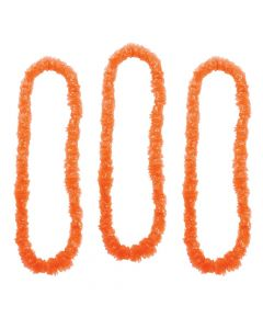 Orange School Spirit Leis