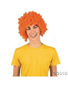 Orange Team Spirit Wig