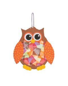 Owl Tissue Acetate Craft Kit