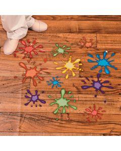 Paint Splatter Floor Decals