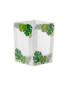 Palm Leaf Centerpiece Luminaries