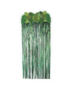 Palm Leaf Door Curtain
