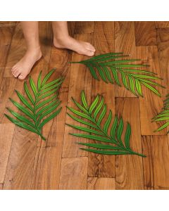 Palm Leaf Floor Decals