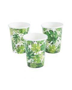Palm Leaf Paper Cups - 8 Ct.