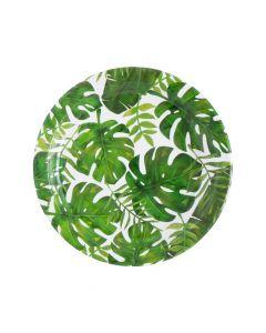 Palm Leaf Paper Dinner Plates