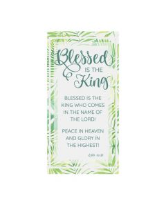 Palm Sunday Blessed is the King Backdrop Banner