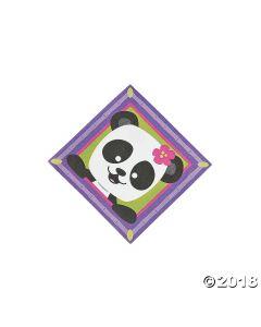 Panda Party Beverage Napkins