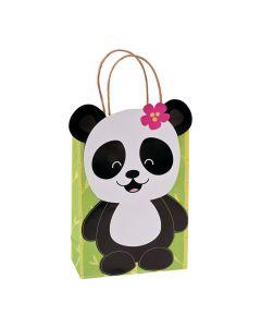 Panda Party Kraft Gift Bags
