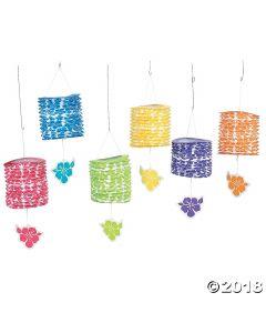 Paradise Party Hanging Paper Lanterns