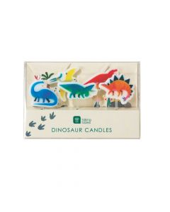Party Dinosaur-Shaped Candles
