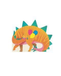 Party Dinosaur-Shaped Napkins