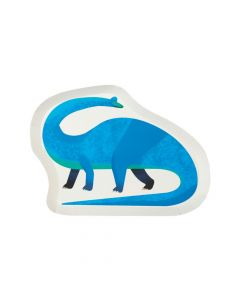 Party Dinosaur-Shaped Paper Dinner Plates