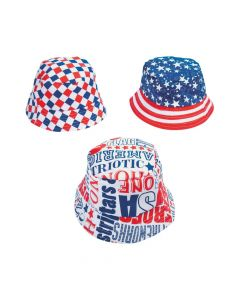 Patriotic Bucket Hats