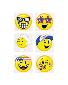 Patriotic Emoji Tattoos