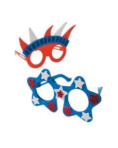 Patriotic Glasses Craft Kit