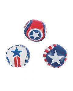 Patriotic Kick Balls