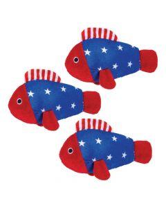 Patriotic Stuffed Fish