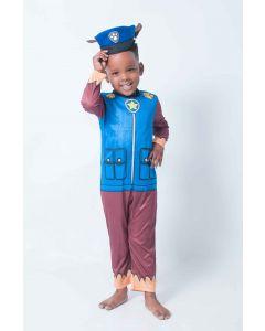 Paw Patrol Chase Dress up Age 3 4