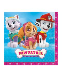 Paw Patrol™ Pink Luncheon Napkins