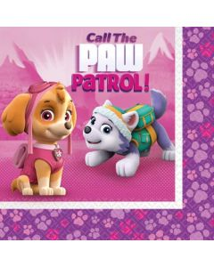 Paw Patrol Pink Napkins