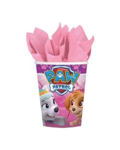 Paw Patrol Pink Paper Cups