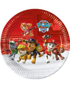 Paw Patrol Ready For Action Paper Plate