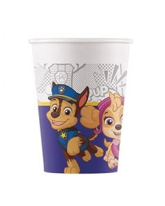 Paw Patrol Yelp for Action Paper Cups 200ML - Eco Friendly