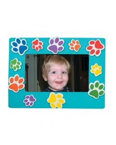 Paw Print Picture Frame Magnet Kit